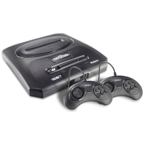 Игровая приставка Retro Genesis Modern + 300 игр черный