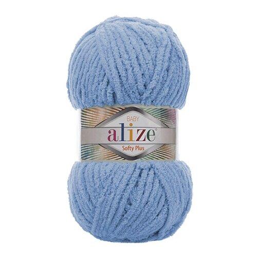 Купить Пряжа для вязания Alize 'Softy Plus' 100г 120м (100% микрополиэстер) (112 голубой), 5 мотков