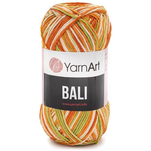 Купить Пряжа YarnArt 'Bali' 100гр 215м (80% хлопок, 20% полиэстер) (2120 секционный), 5 мотков