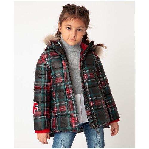 Купить Зеленая куртка зимняя Gulliver, размер 104*56*51, модель 22002GMC4103, Куртки и пуховики