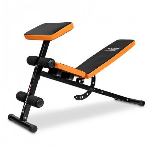 Скамья Alpin Bench G-10 черный/оранжевый