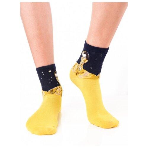 Яркие цветные носки унисекс, прикольные красочные носки/ Модные носки с рисунком/ Высокие носки из натурального хлопка с рисунком
