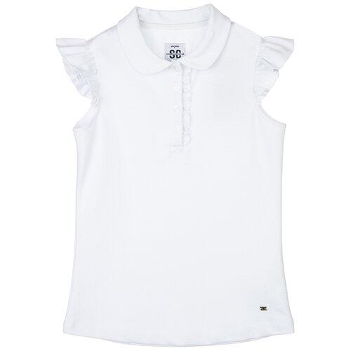 Купить Блузка playToday размер 164, белый, Рубашки и блузы