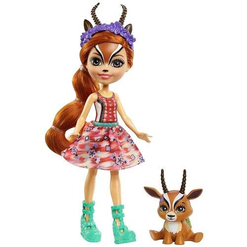 Купить Игровой набор Enchantimals Габриэла Газелли и Рейсер, 15.2 см, GTM26, Куклы и пупсы