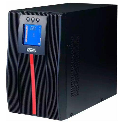 ИБП с двойным преобразованием Powercom Macan Comfort MAC-1500 черный
