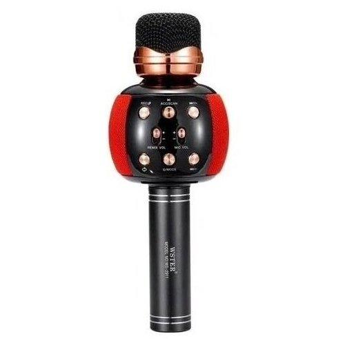 Беспроводной караоке-микрофон WSTER WS-2911, красный