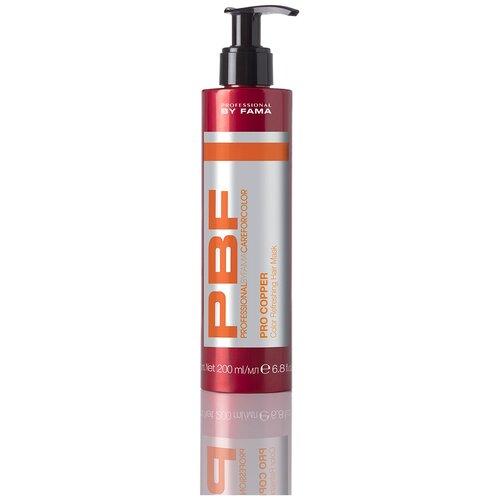 Маска усиливающая медные оттенки волос PROFESSIONAL BY FAMA PRO COPPER, 200 мл.