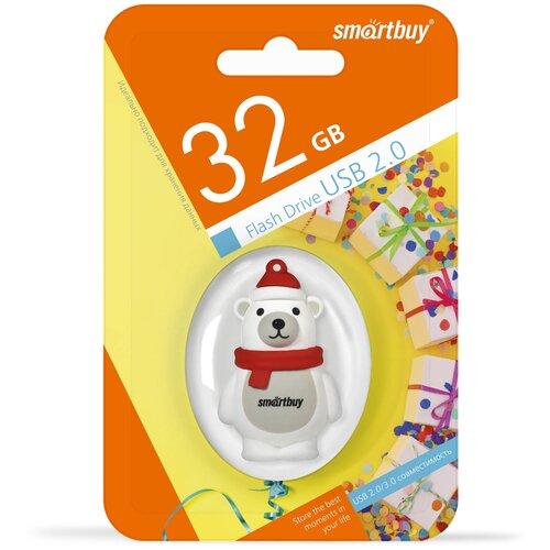 Фото - UFD Smartbuy 32GB Wild series Белый Медведь (SB32GBPolarBearW) ufd smartbuy 16gb wild series бык sb16gbbullw