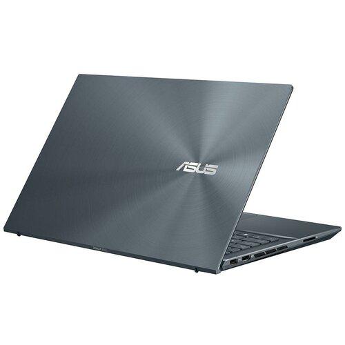 Фото - Ноутбук ASUS Zenbook 15 UX535LI-E2259T Core i5 10300H/8Gb/512GB SSD/NV GTX1650Ti 4Gb/15.6 FullHD/Win10 Pine Grey ноутбук asus rog strix scar 15 g533qm hf064t amd ryzen 7 5800h 16gb 512gb ssd nv rtx3060 6gb 15 6 fullhd win10 black