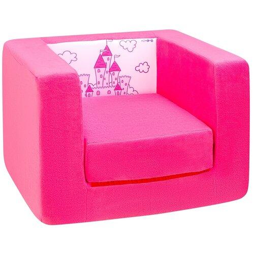 Кресло-кровать PAREMO детское PCR320 Дрими Замок размер: 52х45 см, обивка: ткань, цвет: элис/роуз
