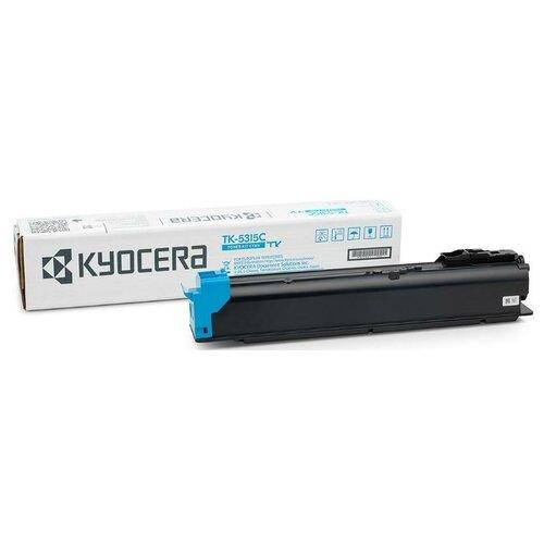 Фото - Kyocera TK-5315C (1T02WHCNL0) Тонер-картридж оригинальный синий (голубой) Cyan 18К для TASKalfa 408ci 408 тонер картридж tk 5315c 18 000 стр cyan для taskalfa 408ci taskalfa 508ci