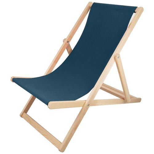 Шезлонг KETT-UP PICNIC ECO, синий стул kett up picnic eco дерево цвет беленый