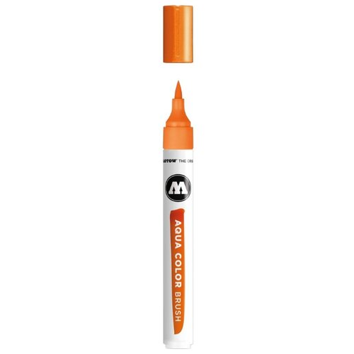 Купить Маркер на водной основе Molotow AQUA COLOR BRUSH #003 orange 727203, Фломастеры и маркеры