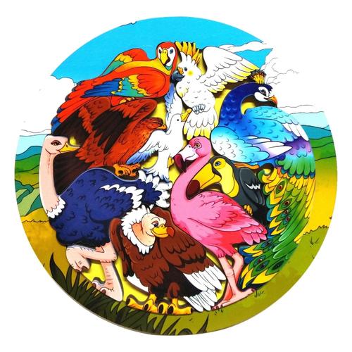 Купить Зоопазл Экзотические птицы , Нескучные игры, Пазлы