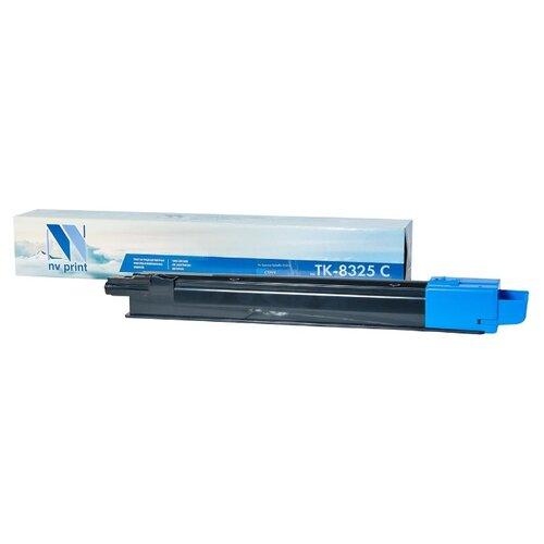 Фото - Картридж NV Print TK-8325 Cyan для Kyocera, совместимый картридж nv print tk 8335 cyan для kyocera совместимый
