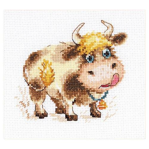Купить 0-212 Набор для вышивания АЛИСА 'Бычок' 11*10см, Алиса, Наборы для вышивания