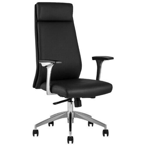 Компьютерное кресло STOOL GROUP TopChairs Armor для руководителя, обивка: искусственная кожа, цвет: черный