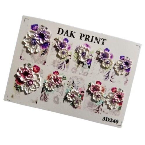 Купить Слайдер дизайн Dak Print 3D 240 разноцветный