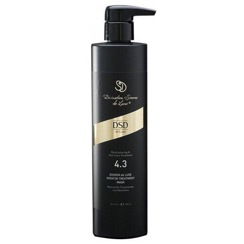 Купить Divination Simone DeLuxe 4.3 RESTRUCTURING AND HAIR LOSS TREATMENTS Восстанавливающая маска для волос с кератином Диксидокс де Люкс, 500 мл