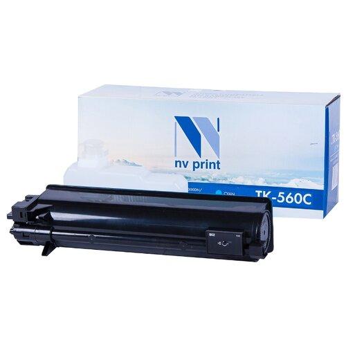 Фото - Картридж NV Print TK-560 Cyan для Kyocera, совместимый картридж nv print tk 8335 cyan для kyocera совместимый