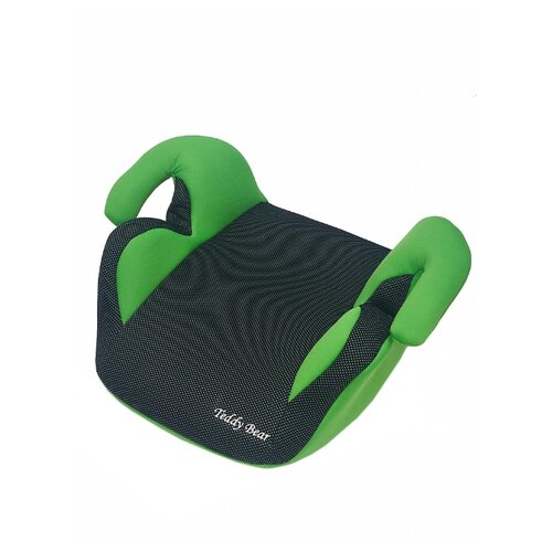 Купить Бустер группа 3 (22-36 кг) Мишутка LB 311, green/black dot, Автокресла