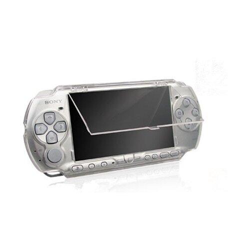 Противоударный чехол-корпус-бокс MyPads для портативной игровой приставки PSP 2000/ 3000 прозрачный