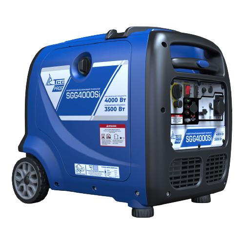 Бензиновый генератор ТСС SGG-4000Si (3500 Вт) инверторный бензиновый генератор тсс ggw 5 0 200ed r 22957 сварочный 98кг бензин 5квт 220 12в
