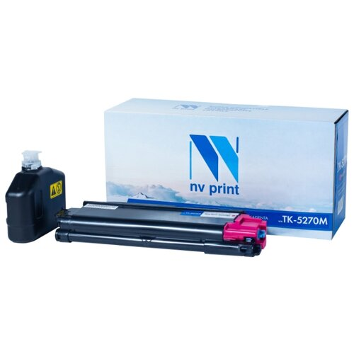 Фото - Картридж NV Print TK-5270 Magenta для Kyocera, совместимый картридж nv print tk 8515 magenta для kyocera совместимый
