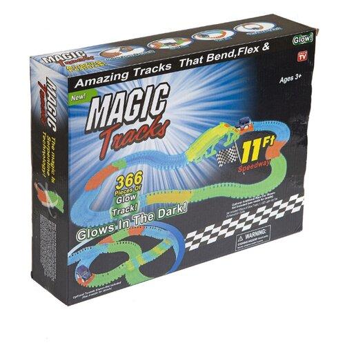 Купить Трек Magic Tracks гибкий (366 деталей), Детские треки и авторалли