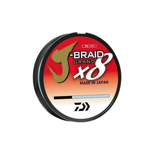 Плетеный шнур DAIWA J-Braid Grand X8 голубой 0.18 мм 135 м
