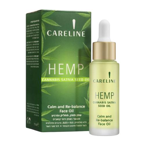 Купить Careline Hemp cannabis sativa seed oil Масло семян конопли для лица, 30 мл