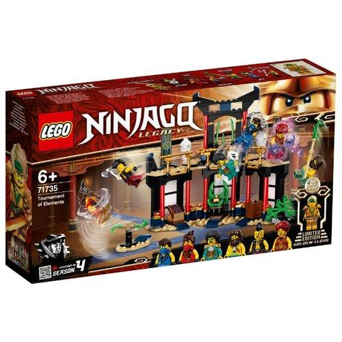 Купить Конструктор LEGO Ninjago 71735 Турнир стихий, Конструкторы