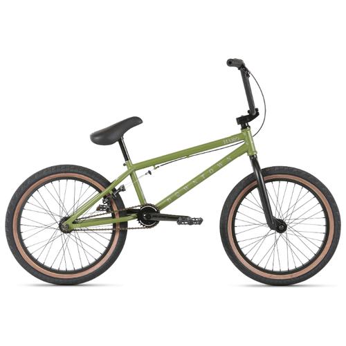 Велосипед Haro 20' Downtown BMX, 20,5' Матовый Оливковый (21322)