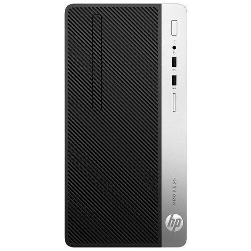 Настольный компьютер HP ProDesk 400 G6 MT (8BY22EA) Micro-Tower/Intel Core i5-9500/8 ГБ/256 ГБ SSD/Intel UHD Graphics 630/DOS черный