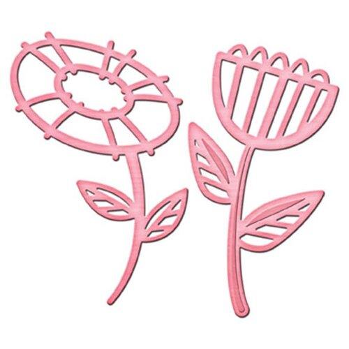 Нож для вырубки Spellbinders Сила цветка 2 (IN-021) 2 шт. розовый