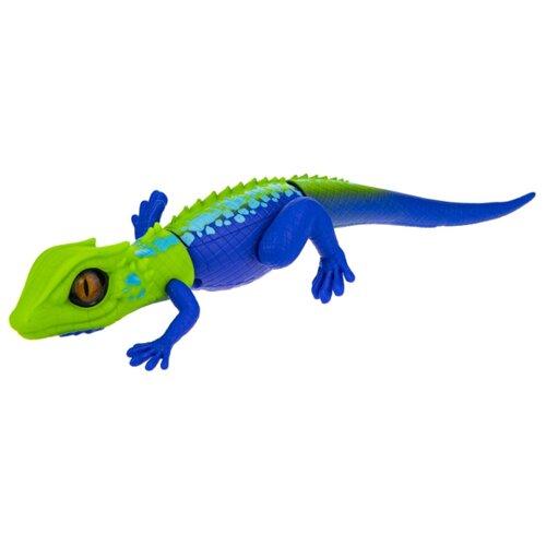 Купить Интерактивная игрушка робот ZURU Robo Alive Затаившаяся ящерица зеленый/синий, Роботы и трансформеры