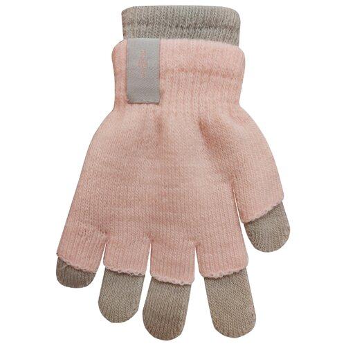 Перчатки RAK R-072 размер 18, светло-розовый/серый