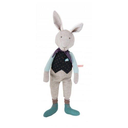 Мягкая игрушка, Moulin Roty, Всегда опаздывающий кролик