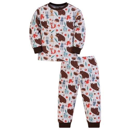 Пижама Утенок размер 86, белый