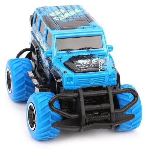 Внедорожник Наша игрушка 6146T 1:43 12 см синий, Радиоуправляемые игрушки  - купить со скидкой