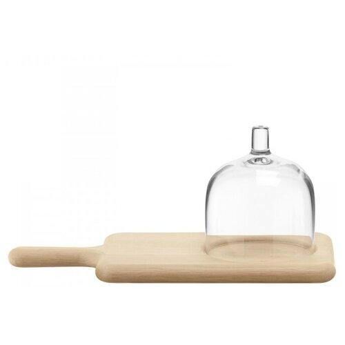 блюдо сервировочное со стеклянным куполом 35 5 см paddle Блюдо сервировочное со стеклянным куполом 35.5 см Paddle