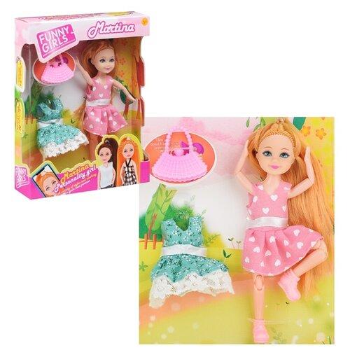 Фото - Кукла Oubaoloon с аксессуарами, в коробке (601-I) кукла oubaoloon martina 14 см 601 c