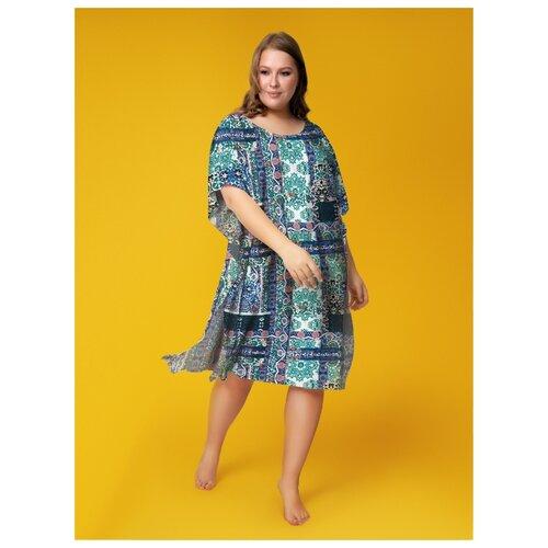 Пляжное платье Vis-a-Vis размер XS/M blue/green платье oodji ultra цвет красный белый 14001071 13 46148 4512s размер xs 42 170