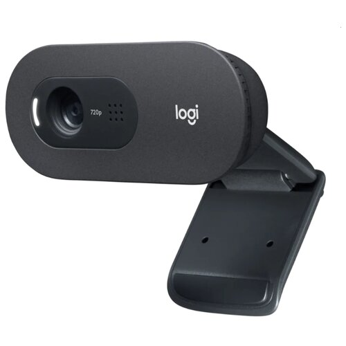 Веб-камера Logitech HD Webcam C505, черный