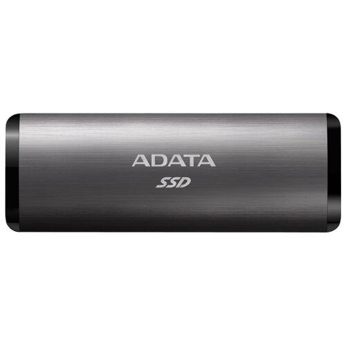 Внешний SSD ADATA SE760 256 ГБ титановый