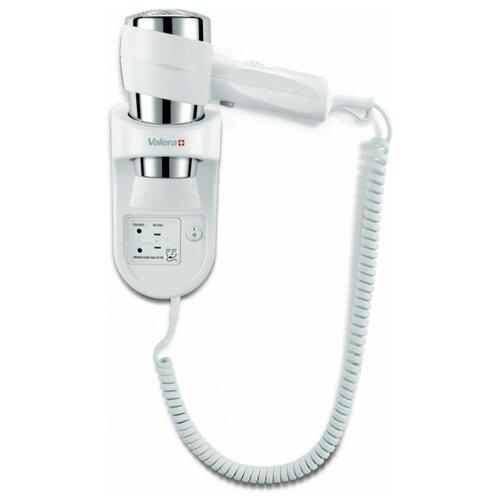 Настенный фен с держателем и розеткой для электробритвы Valera Action 1600 Shaver White 542.06/032.05