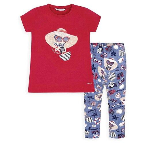 Купить Комплект одежды Mayoral размер 128, красный, Комплекты и форма