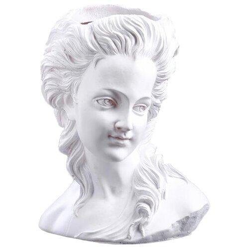 Ваза Хорошие сувениры Афина (5416108/5312205), белый