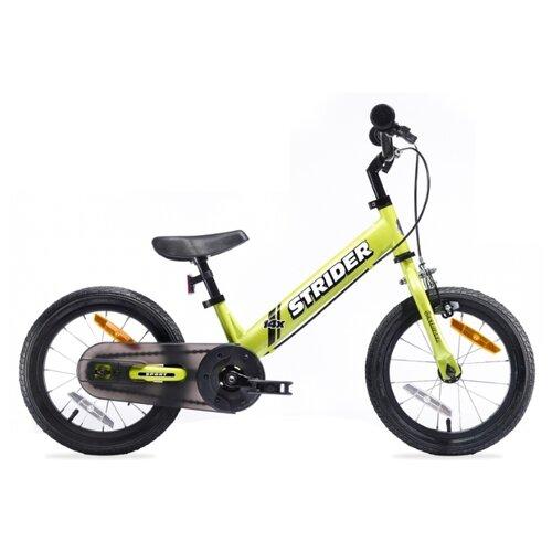 Купить Беговел Strider 14x Sport 2018, зеленый, Беговелы