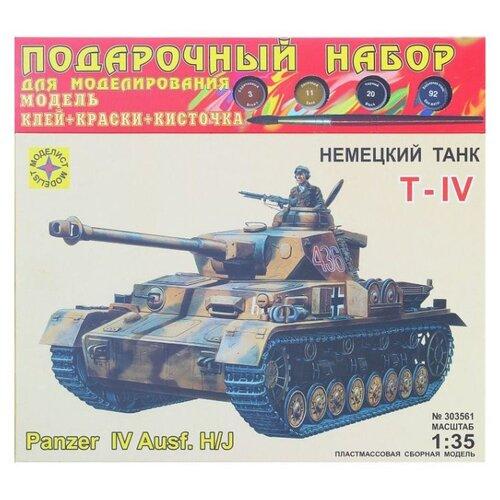 Купить Сборная модель Моделист Немецкий танк Т-IV H/J, Сборные модели